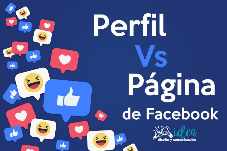 montaje perfil y pagina de facebook