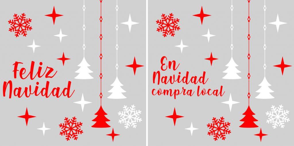 vinilo Navidad Idea
