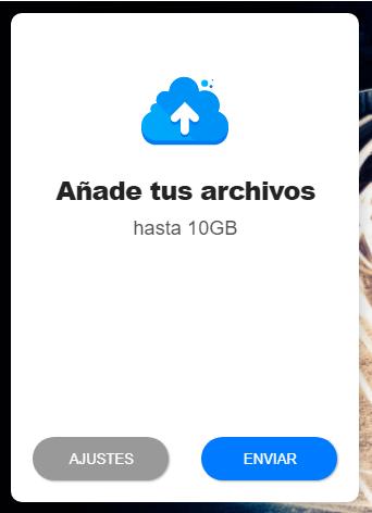Imagen explicativa de la herramienta YDRAY para enviar archivos grandes